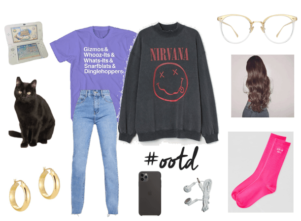 OOTD - Staying in