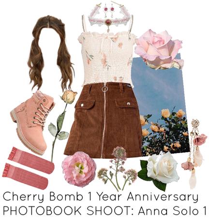 Cherry Bomb 1 Year Anniversary PHOTOBOOK SHOOT: Anna Solo 1