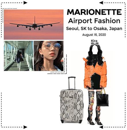 MARIONETTE (마리오네트) [KIRA] Airport Fashion | Seoul, SK to Osaka, JP