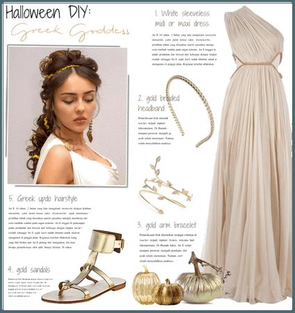 Halloween DIY: Greek Goddess