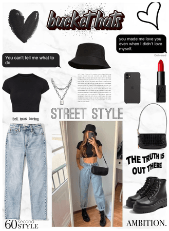 Bucket  Hat Outfit