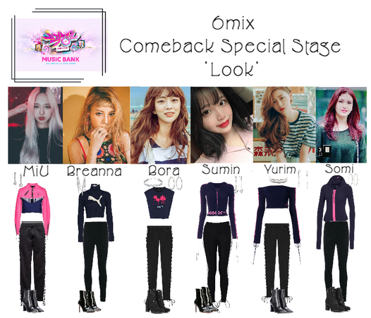 《6mix》Music Bank Comeback Special