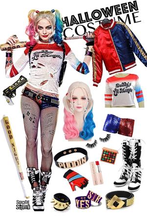 Harley's Halloween costume