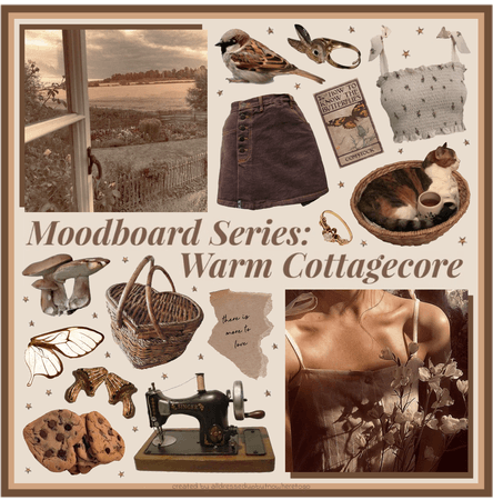 Moodboard Series: Warm Cottagecore - Contest