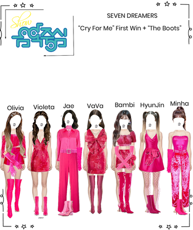 """Seven Dreamers - First Win for """"Cry For Me"""" + The Boots performance"""