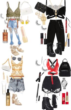 4 Coachella outfits