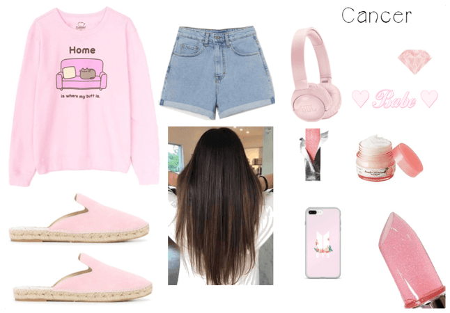 Cancer: Pink Outfit