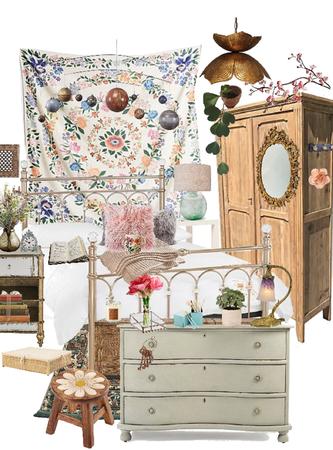 Floral Bedroom Nature