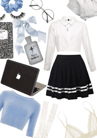 cosplay idea- catholic school