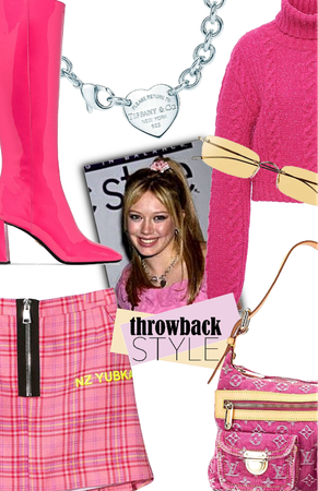 Throwback Style:  Early 2000's inspired