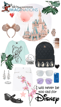 DISNEY summer pastel outfit
