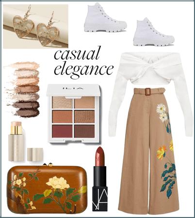 Elegance of earth tones