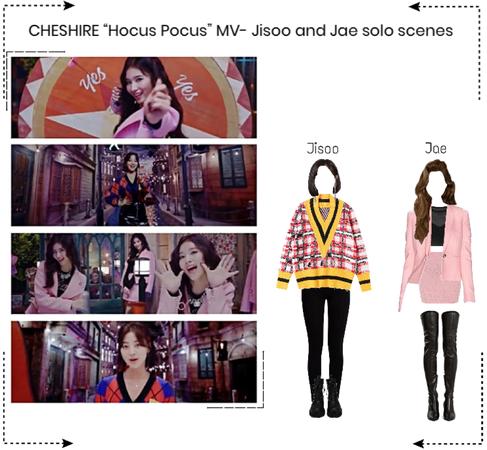 "CHESHIRE ""Hocus Pocus"" MV- Jisoo and Jae solo scenes"