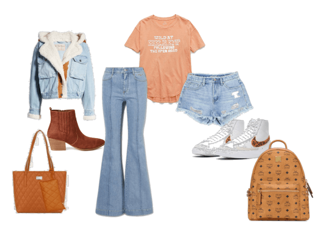 complementary color outfit