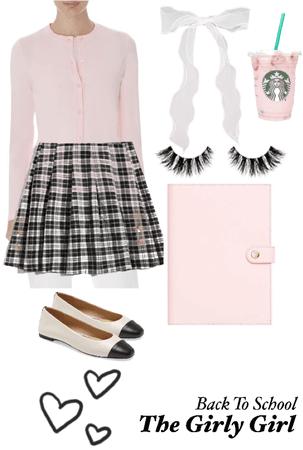 Girly girl back to school