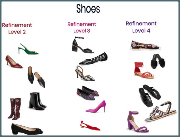 CH Refinement shoes