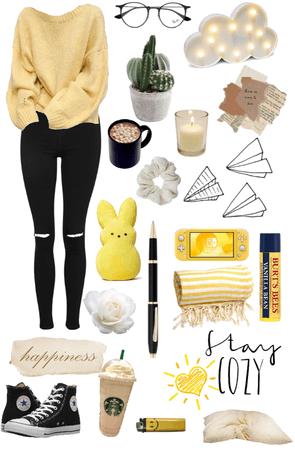 cozy//yellow