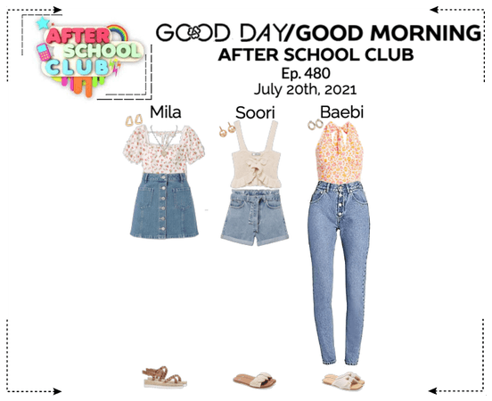 GOOD DAY (굿데이) [GOOD MORNING] After School Club