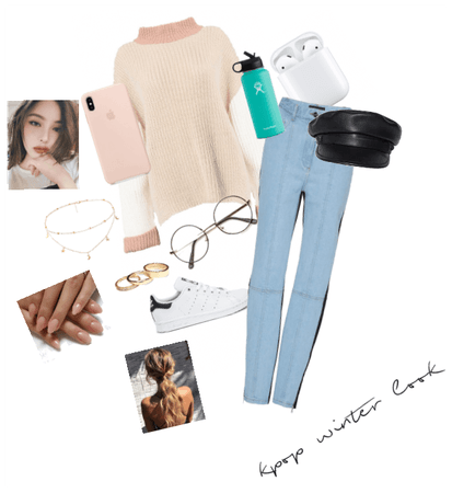 Kpop winter outfit