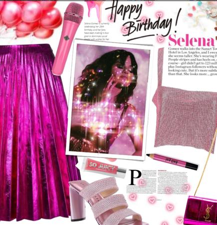 Happy. Birthday Selena