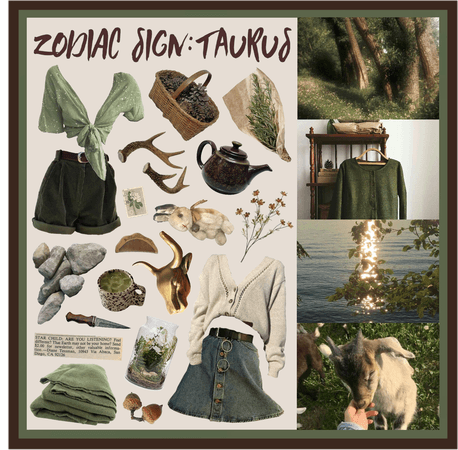 Moodboard Series: The Zodiac Sign Taurus - Contest