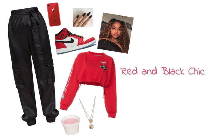Red & Black Chic
