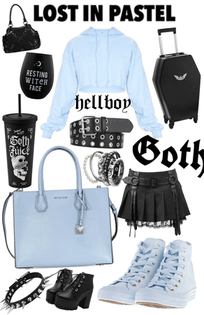 Goth and Pastel!!