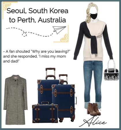 Alice Airport Fashion | Seoul to Perth