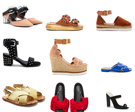 9 Summer shoes to have