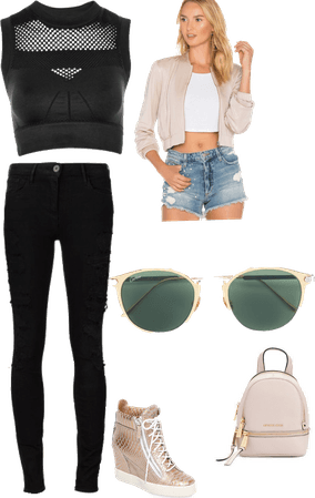The Casual/Workout look