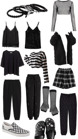 Goth Wardrobe Capsule