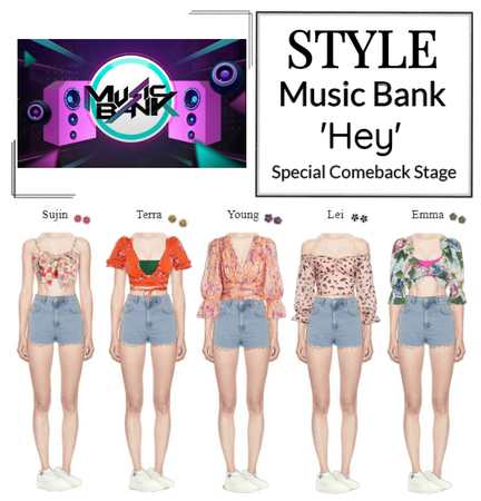STYLE Music Bank 'Hey' Special Stage