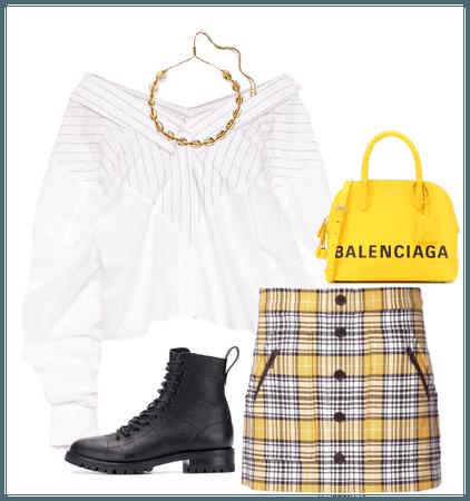Goth Schoolgirl / NYFW Street Style