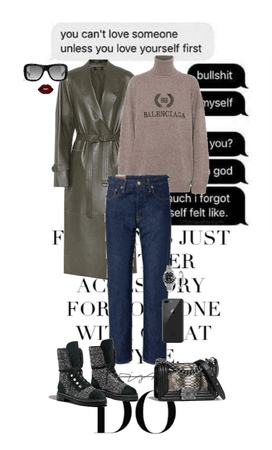 Cold Outside Outfit #34