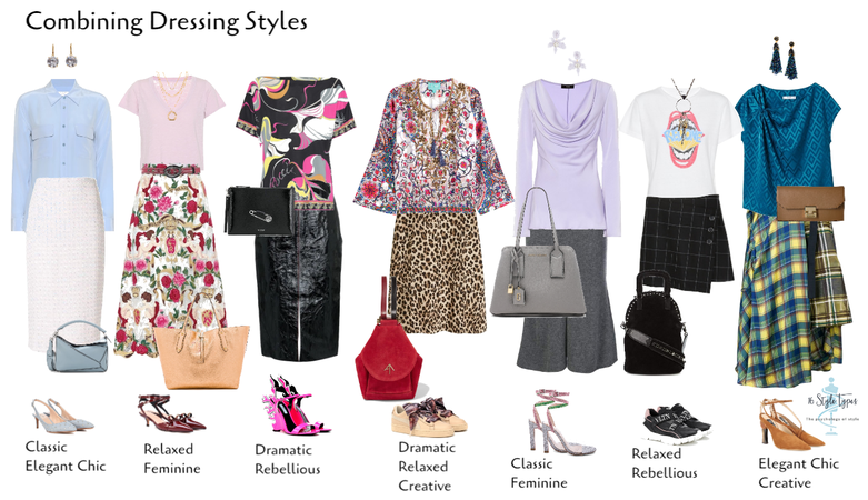 combining dressing styles