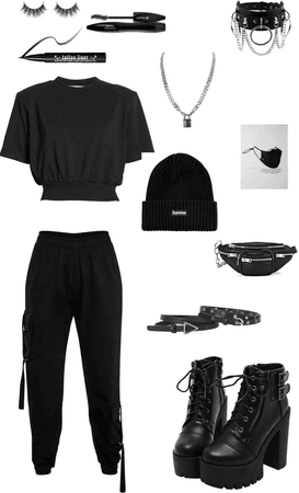 Emo Outfit - ⛓🔗🖤🔒