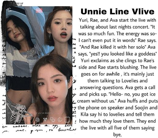 Unnie Line Vlive