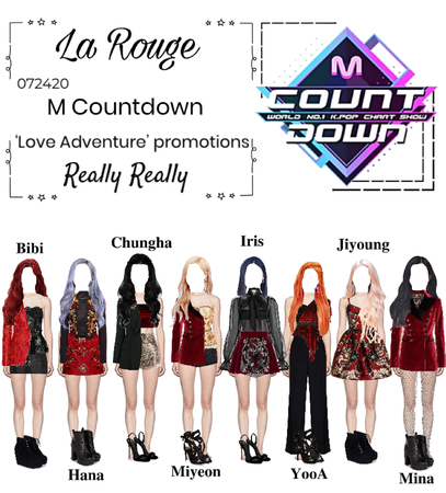 M Countdown- Really Really