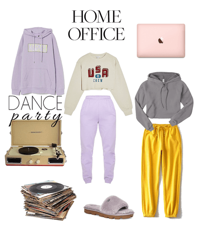 home office and party looks