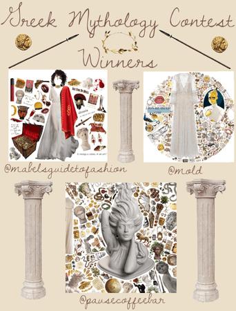 Greek Mythology Challenge Winners