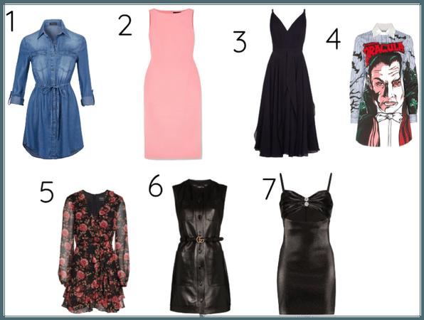 Os 7 estilos universais /Vestidos