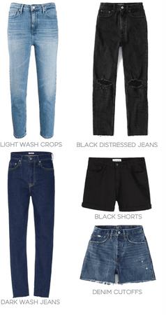 5 pant basics