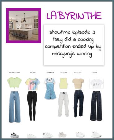 Labyrinthe showtime episode 2