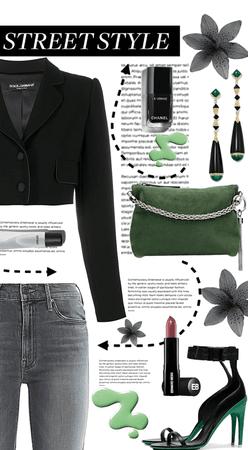 short blazer style