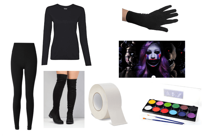Fanf Marionette Cosplay Materials