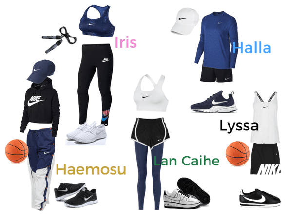 Nike Commercial Outfits