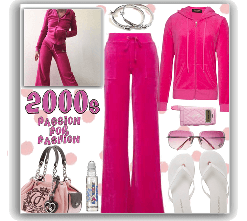back to the 2000s  - juicy couture velour track suit