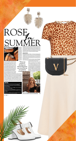 Leopard summer outfit
