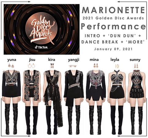 마리오네트 (𝗠𝗔𝗥𝗜𝗢𝗡𝗘𝗧𝗧𝗘) - [DAY 1] 2021 Golden Disc Awards | Performance