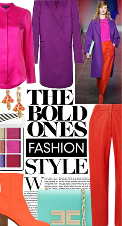 the bold bright outfit